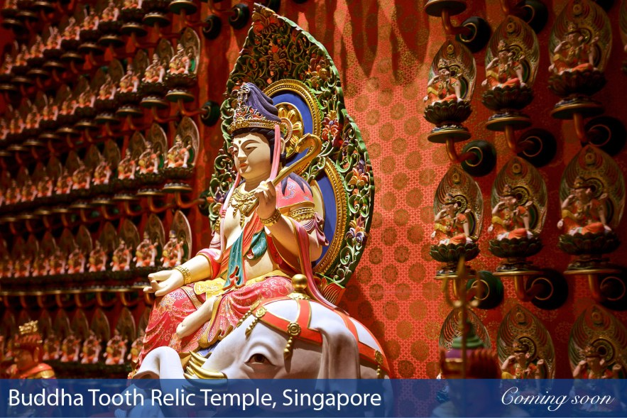 Buddha Tooth Relic Temple, Singapore photographs taken by Chasing Light Media