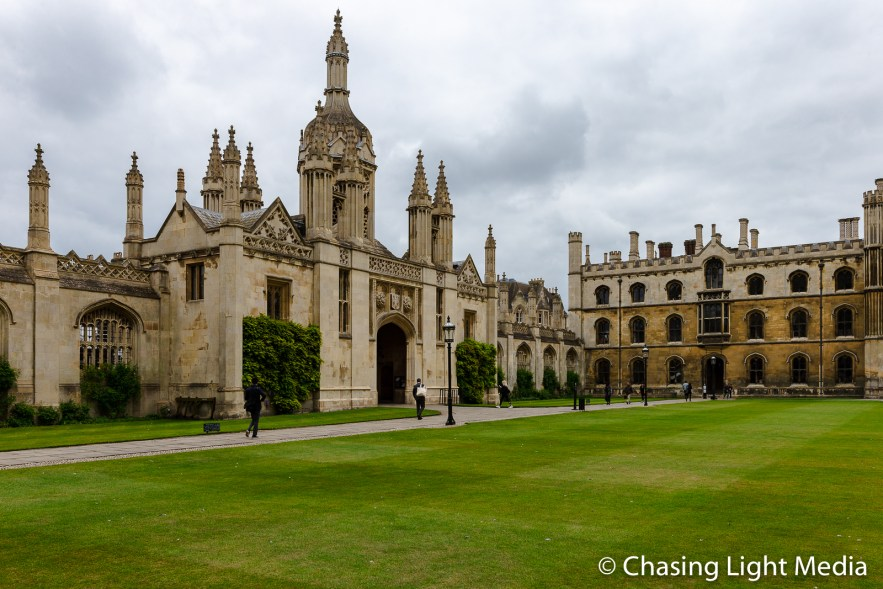 Kings's College courtyard, Cambridge, England