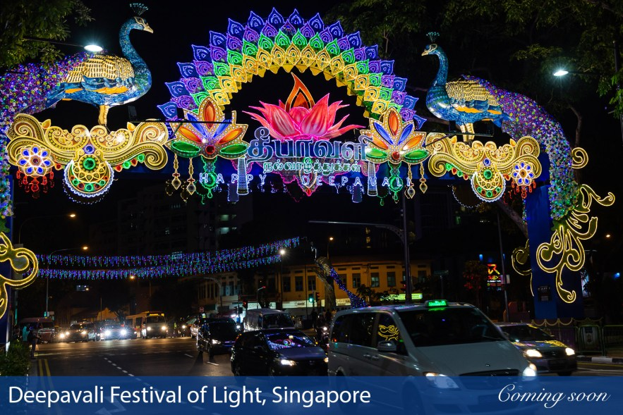 Deepavali Festival of Light, Singapore photographs taken by Chasing Light Media