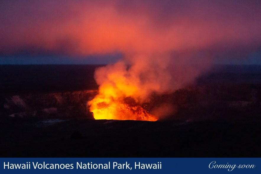 Hawaii Volcanoes National Park, Hawaii photographs taken by Chasing Light Media