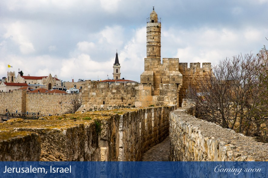 Jerusalem, Israel photographs taken by Chasing Light Media