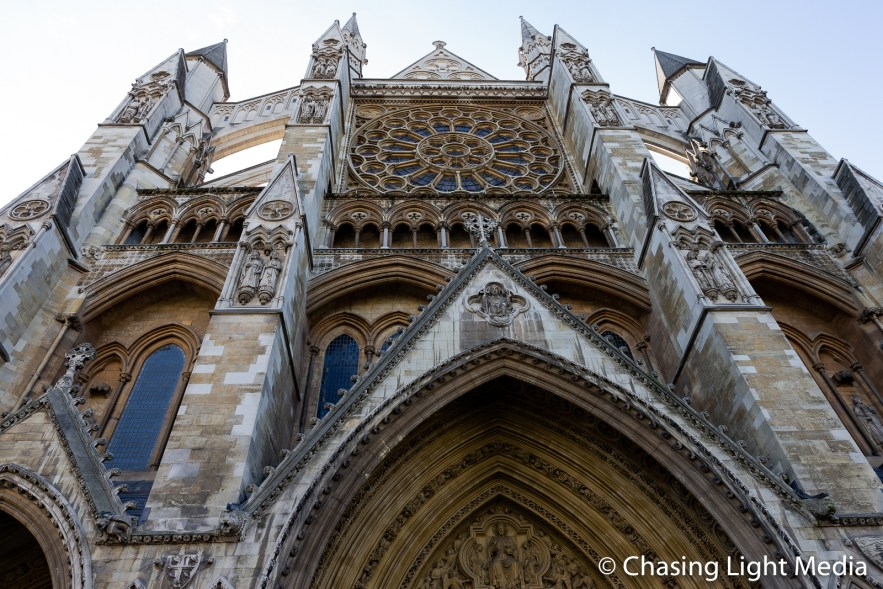 North entrance of Westminster Abbey, Westminster, England