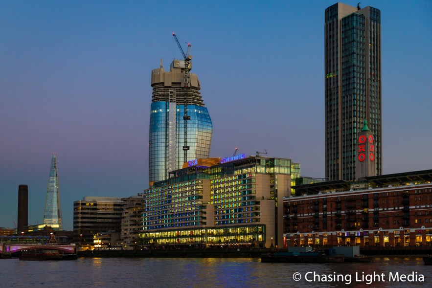 Sea Containers House on the River Thames London, England
