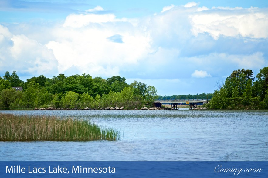 Mille Lacs Lake photographs taken by Chasing Light Media