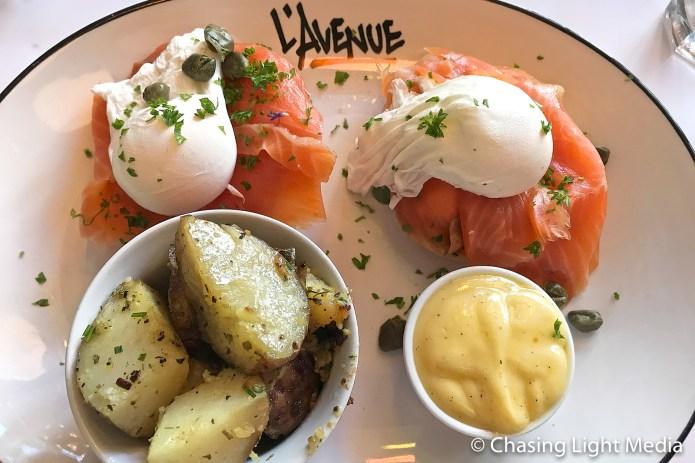 L'Avenue Montreal Eggs Benedict