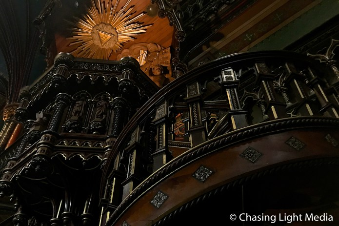 Notre-Dame Basilica, Montréal interior
