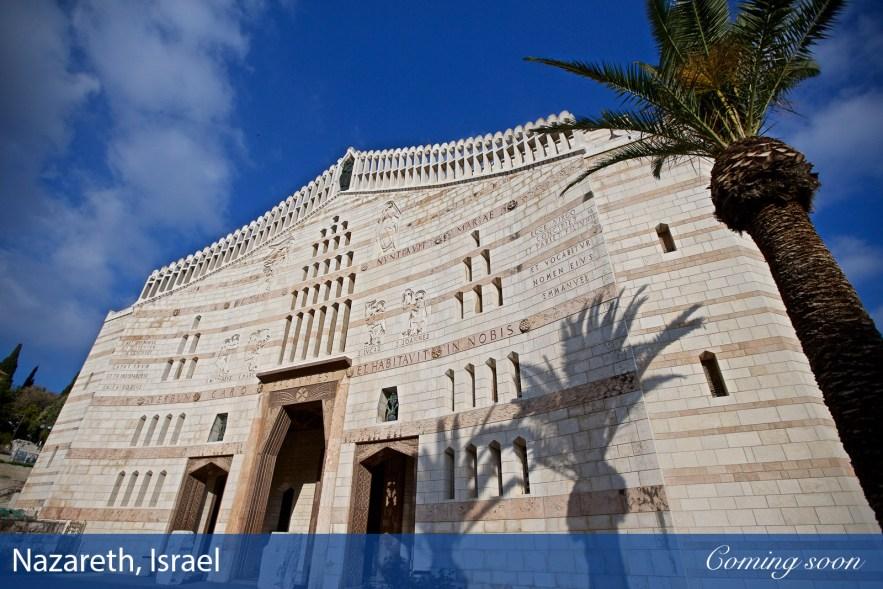 Nazareth, Israel photographs taken by Chasing Light Media
