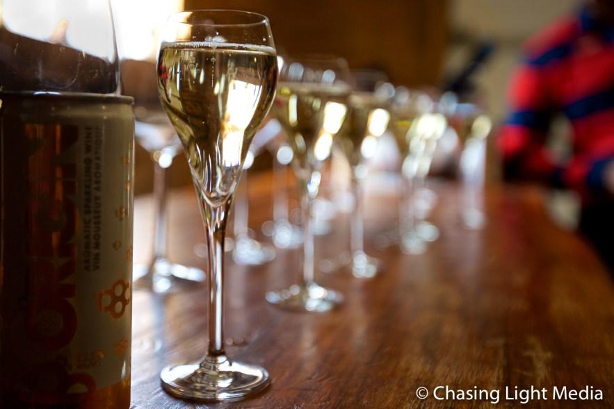 Wine tasting at Niagara-on-the-Lake