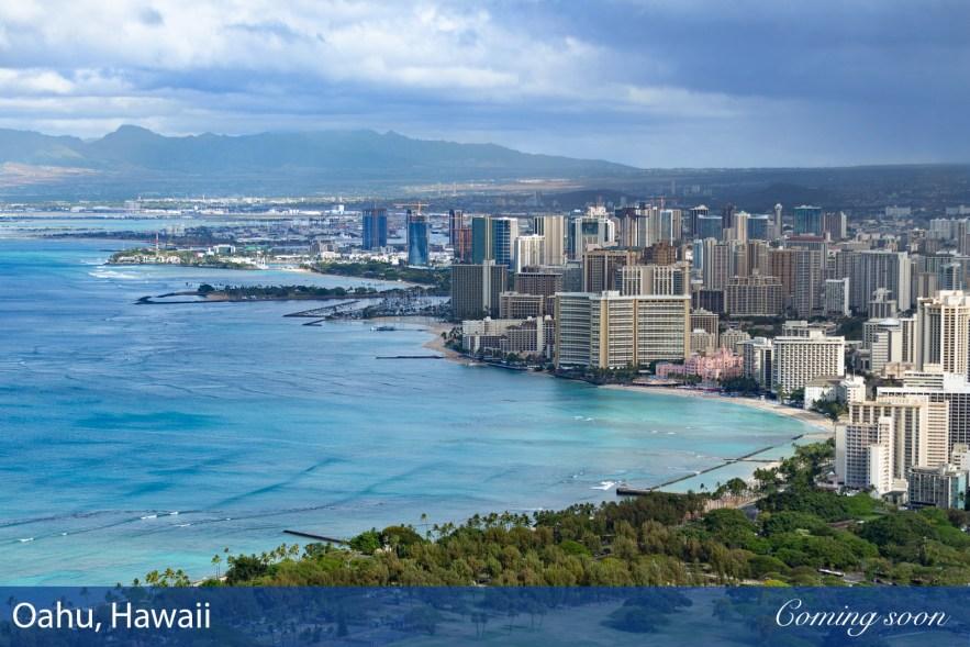 Oahu, Hawaii photographs taken by Chasing Light Media