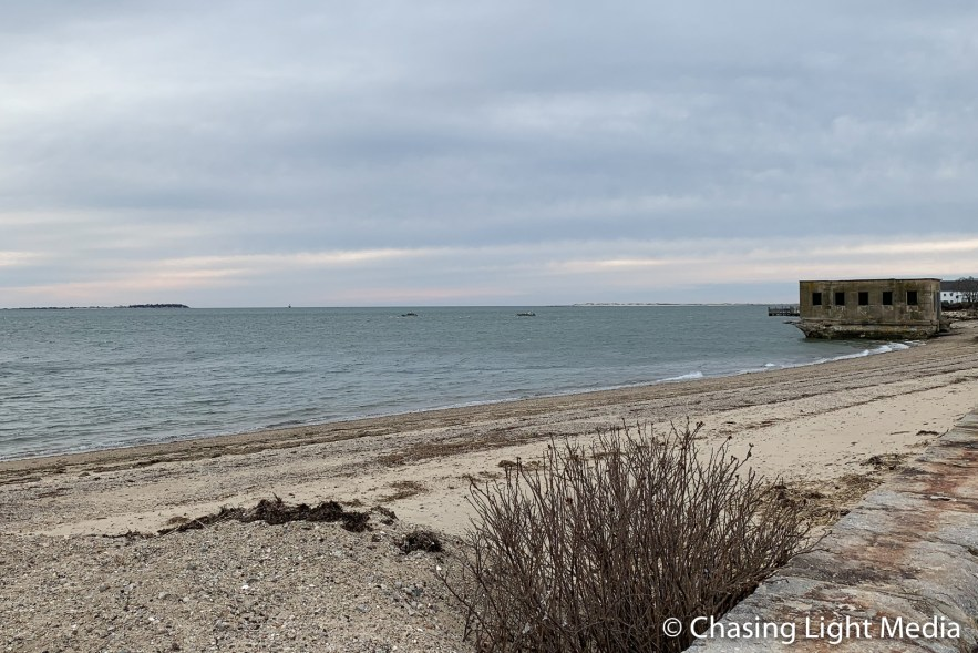 Chilly seaside walk, Plymouth, Massachusetts