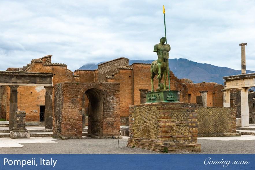 Pompeii, Italy photographs taken by Chasing Light Media