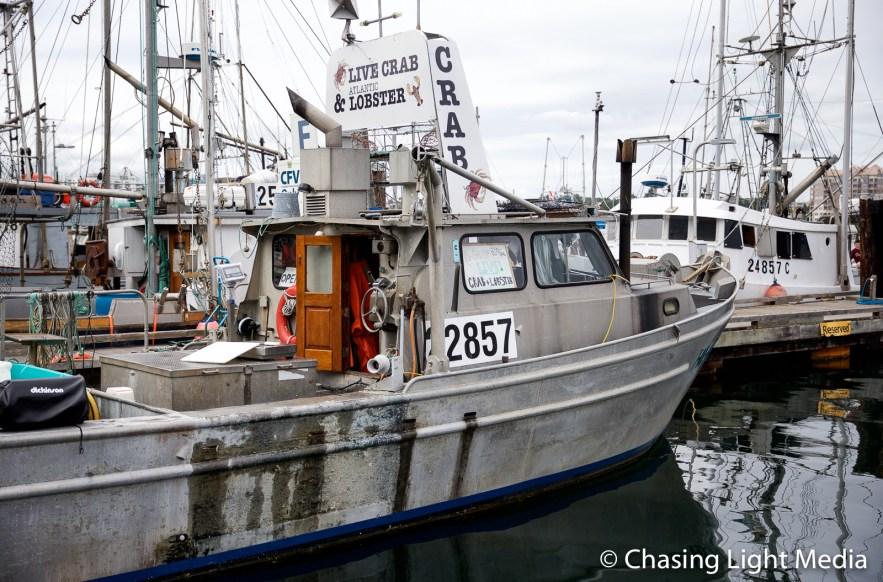 Crab boat, Victoria Harbour, Victoria, British Columbia, Canada