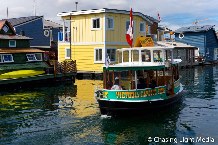 Harbour Ferry in Victoria Harbour, Victoria, British Columbia