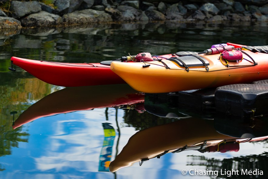 Canoes, Vancouver Island, BC