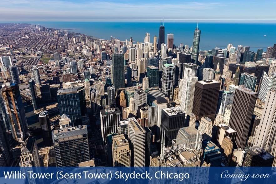 Willis Tower (Sears Tower) Skydeck photographs taken by Chasing Light Media