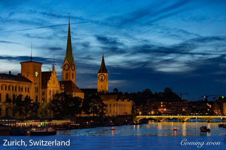 Zurich, Switzerland photographs taken by Chasing Light Media