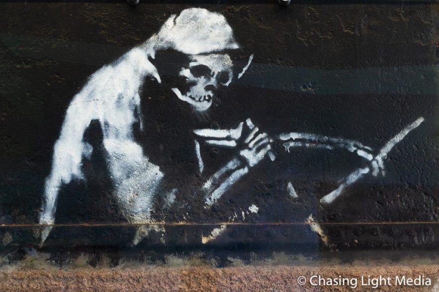 Grim Reaper, Banksy, M Shed