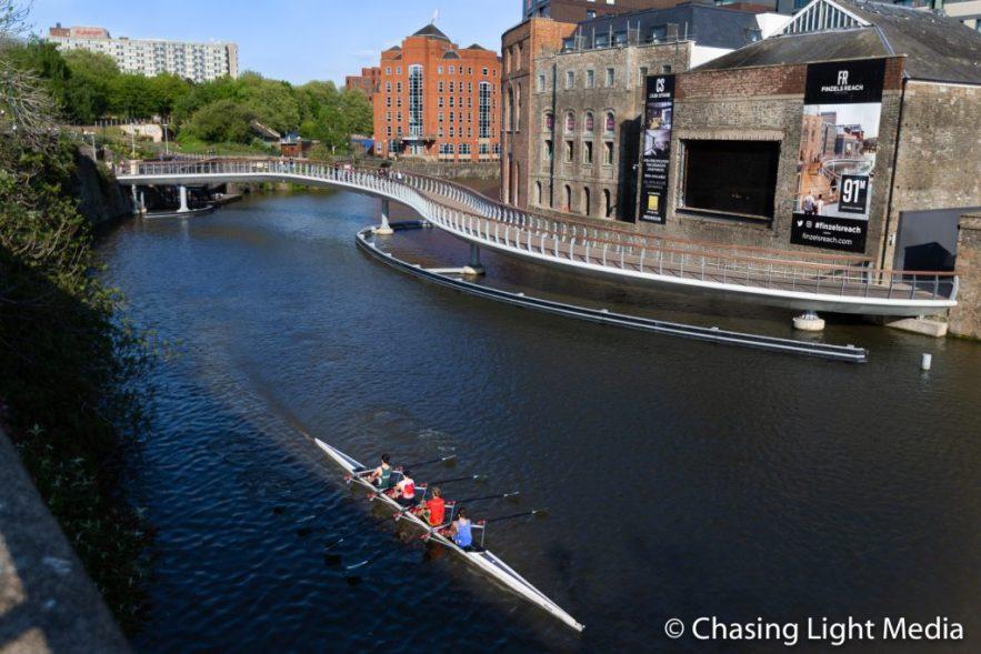 Rowers on the River Avon, Bristol