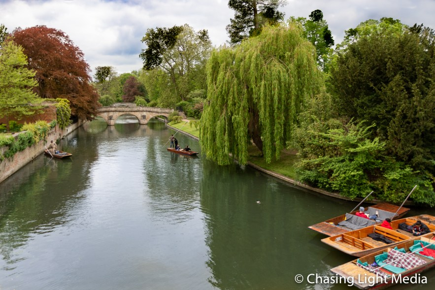 Punts on the River Cam, Cambridge