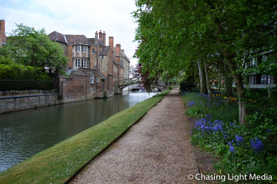 Walking path along the River Cam