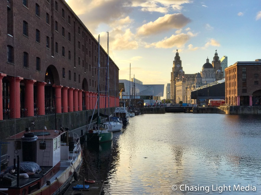 Albert Docks late afternoon, Liverpool, England. Photo: Kimberli Hull, Cool Adventures © Chasing Light Media