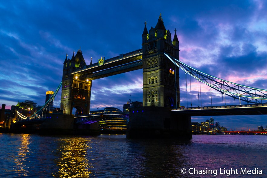 Tower Bridge at twilight, London