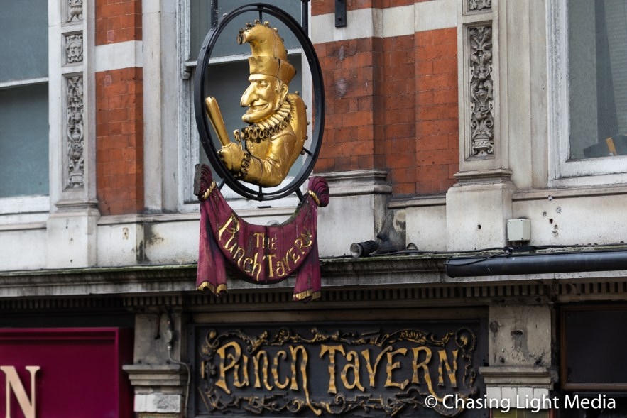 Punch Tavern, London, England