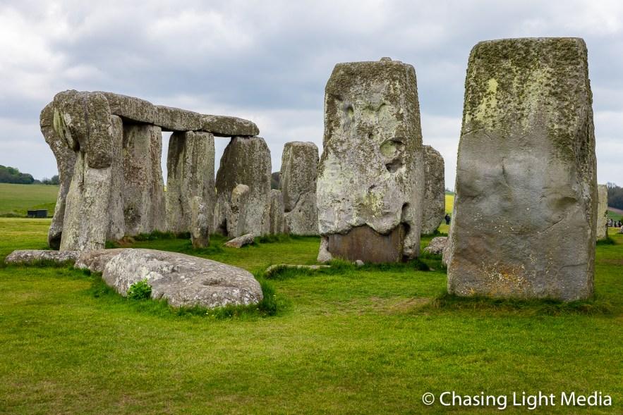 Stone Circle at Stonehenge, Wiltshire, England