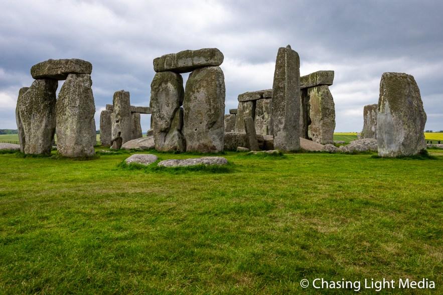 Stone Circle monument, Wiltshire, England