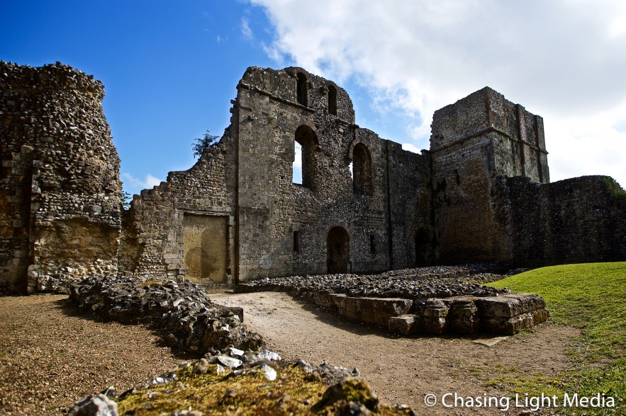 Surviving ruins of Wolvesey Castle, Winchester, England