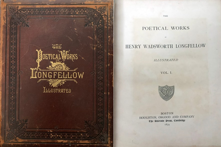The Poetical Works of Henry Wadsworth Longfellow Illustrated, vol. 1, 1879.