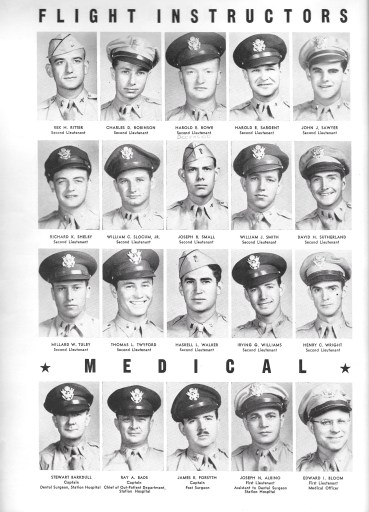 Independence Army Flying School 1943, FLIGHT INSTRUCTORS
