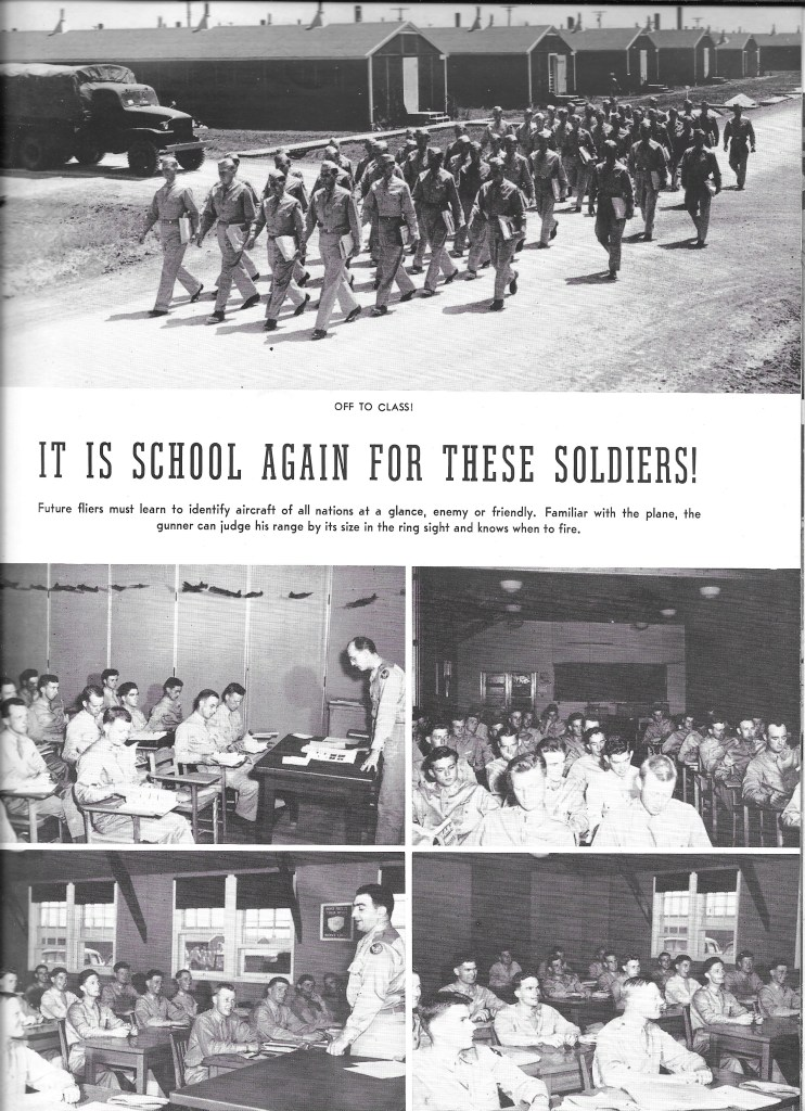 Independence Army Flying School 1943, IT IS SCHOOL AGAIN FOR THESE SOLDIERS!