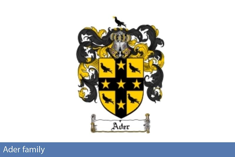 Ader family crest
