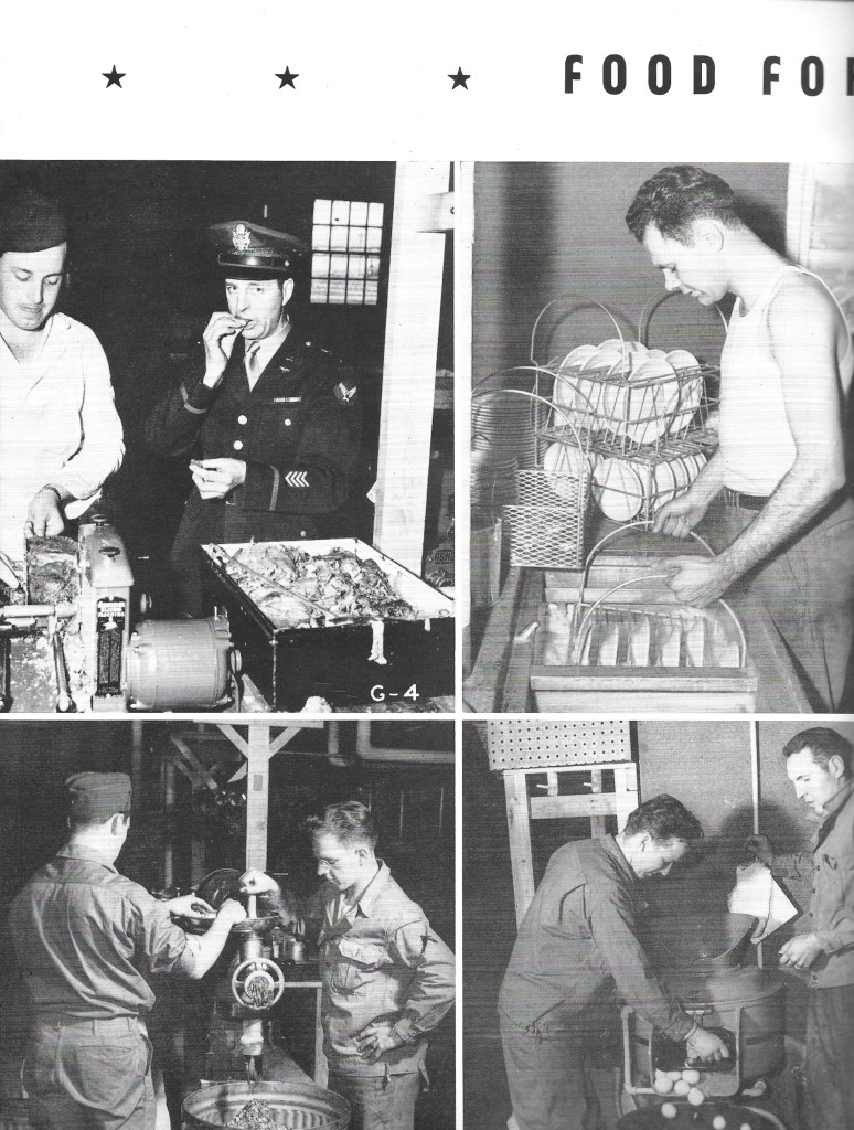 Independence Army Flying School 1943, Food for Hungry Soldiers