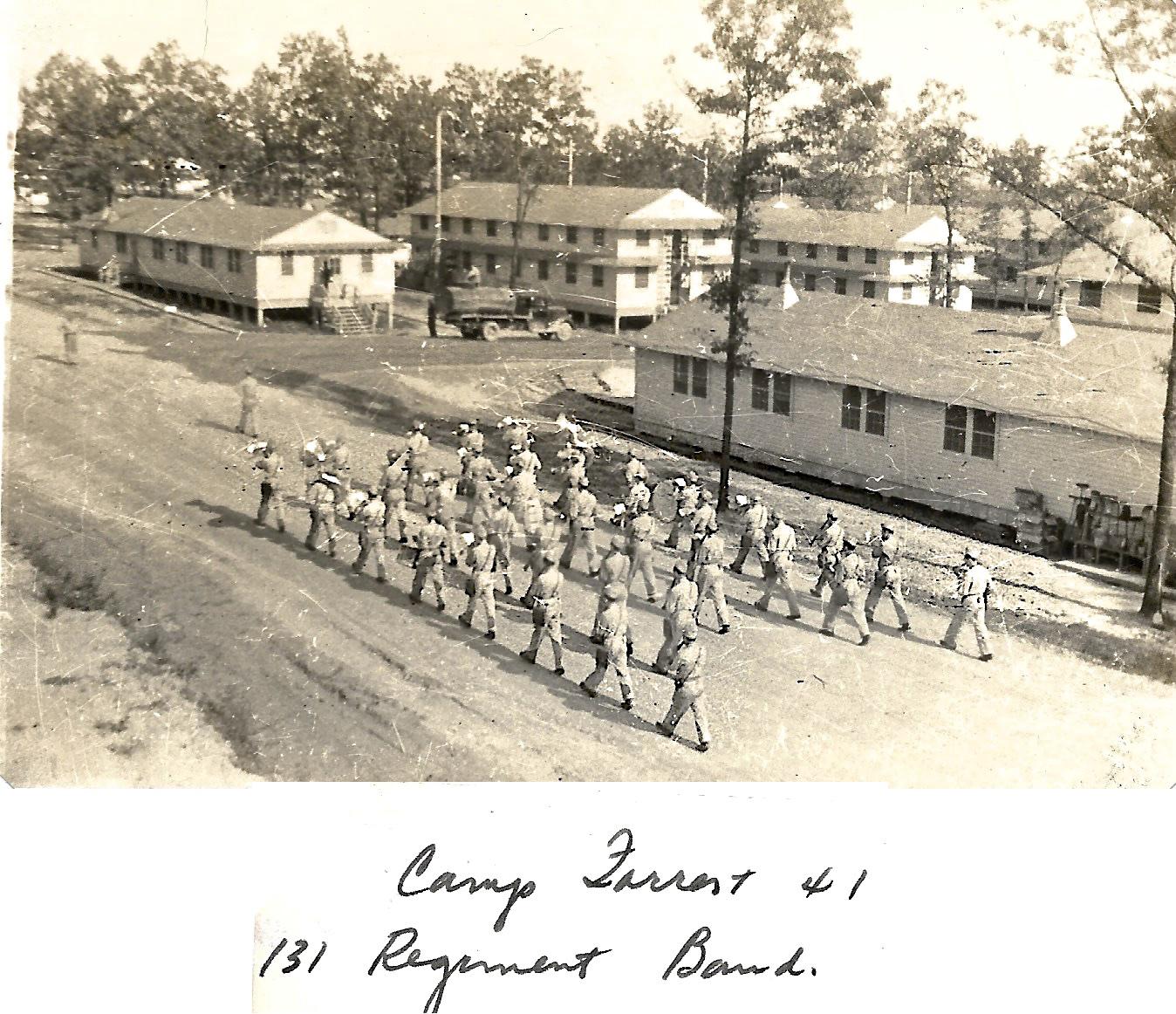 1941 Camp Forrest, 131 Regiment Band