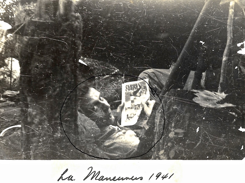 1941 WWII Ernie Faulkner, Louisiana Maneuvers