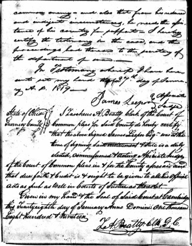 Morris Ader file, p. 5, Revolutionary War Pension and Bounty-Land Warrant Application Files
