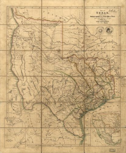 Texas 1841, Library of Congress, Geography and Map Division