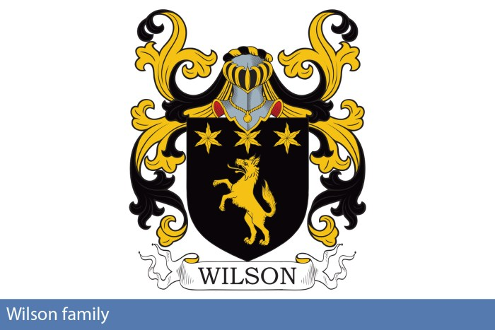 Wilson family research