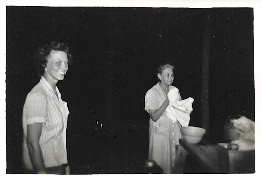 Evelyn Phillis and Myrtle Hooper Phillis, ca. 1940s