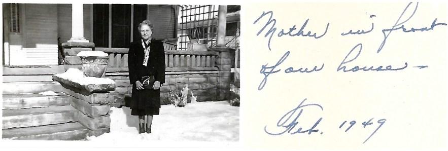 Myrtle Phillis, Feb 1949, Independence, Kansas