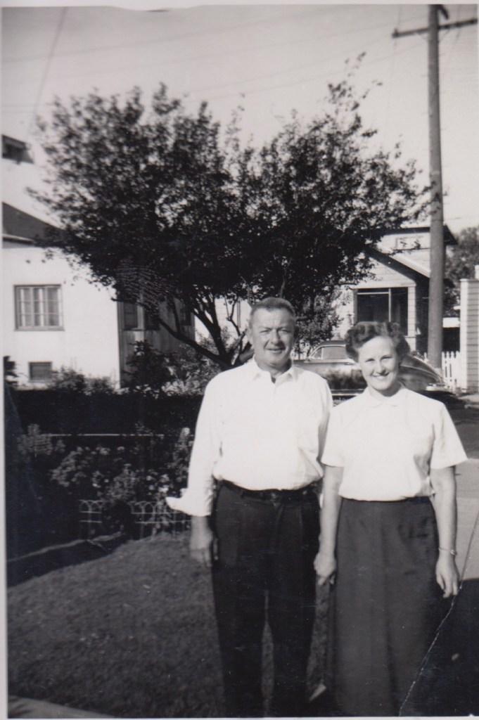 Hanley and Eleanor Baird, Fairfield, California, ca 1950s