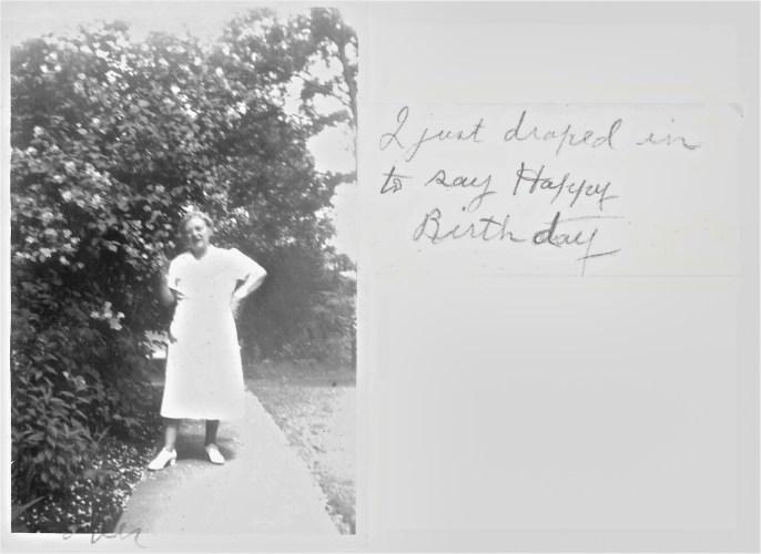 Lora Faulkner, Happy Birthday message