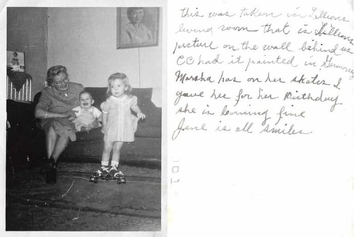 Lora Swafford Faulkner with grandchildren