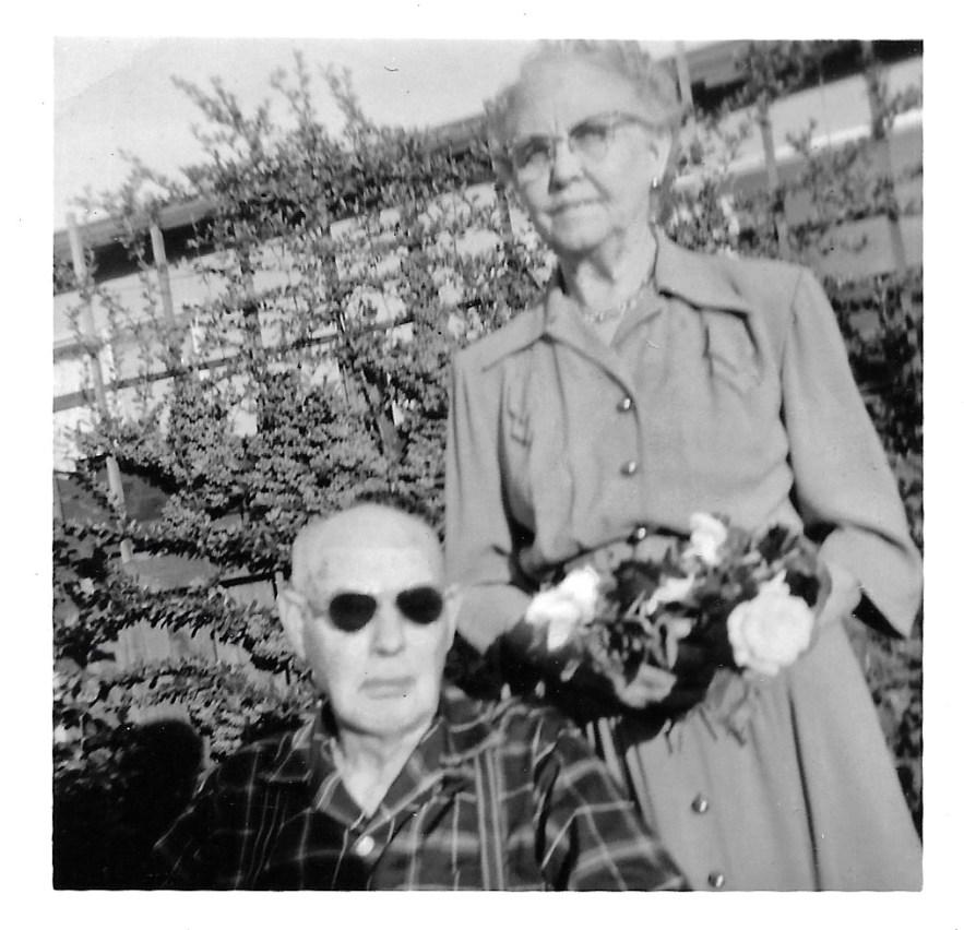 William and Myrtle Phillis, ca 1950s