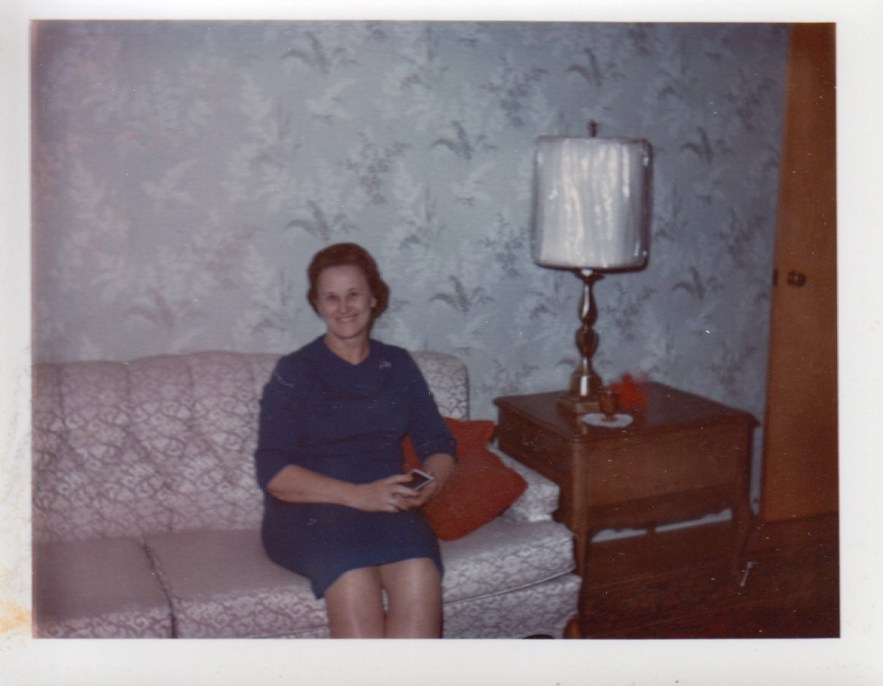 Eleanor Baird at home, ca 1960s