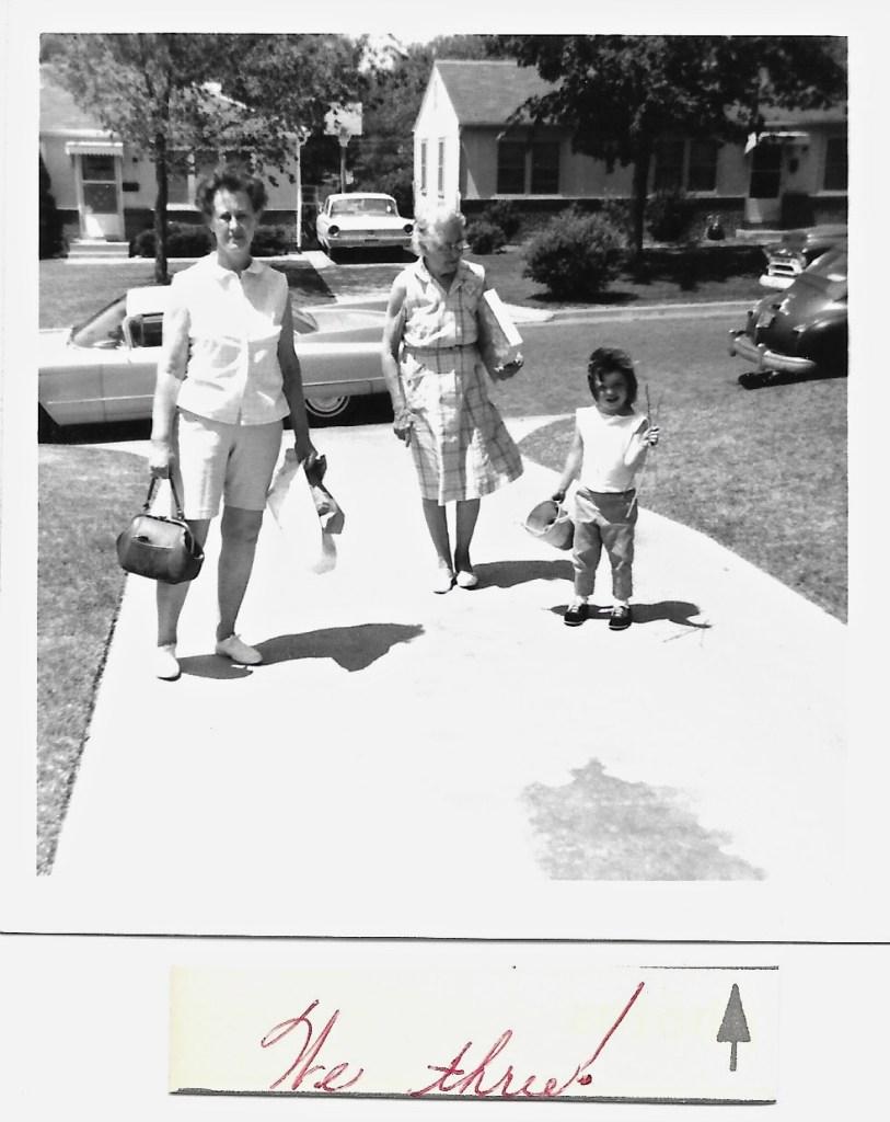 Eleanor Phillis Baird, Myrtle Phillis and Kimberli Faulkner, 196