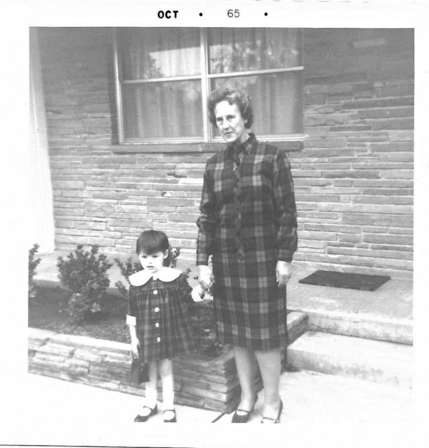 1965 Kim Faulkner and Eleanor Baird