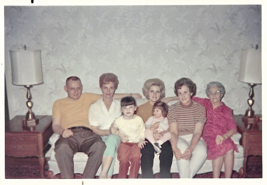 Faulkner and Phillis family, ca. 1969